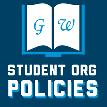 GW Student Org Policies