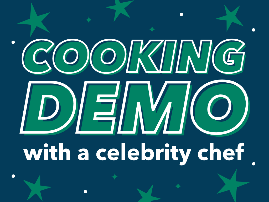 Cooking Demo with a Celebrity Chef